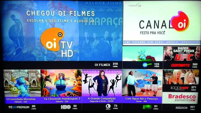 Televisão OI HD