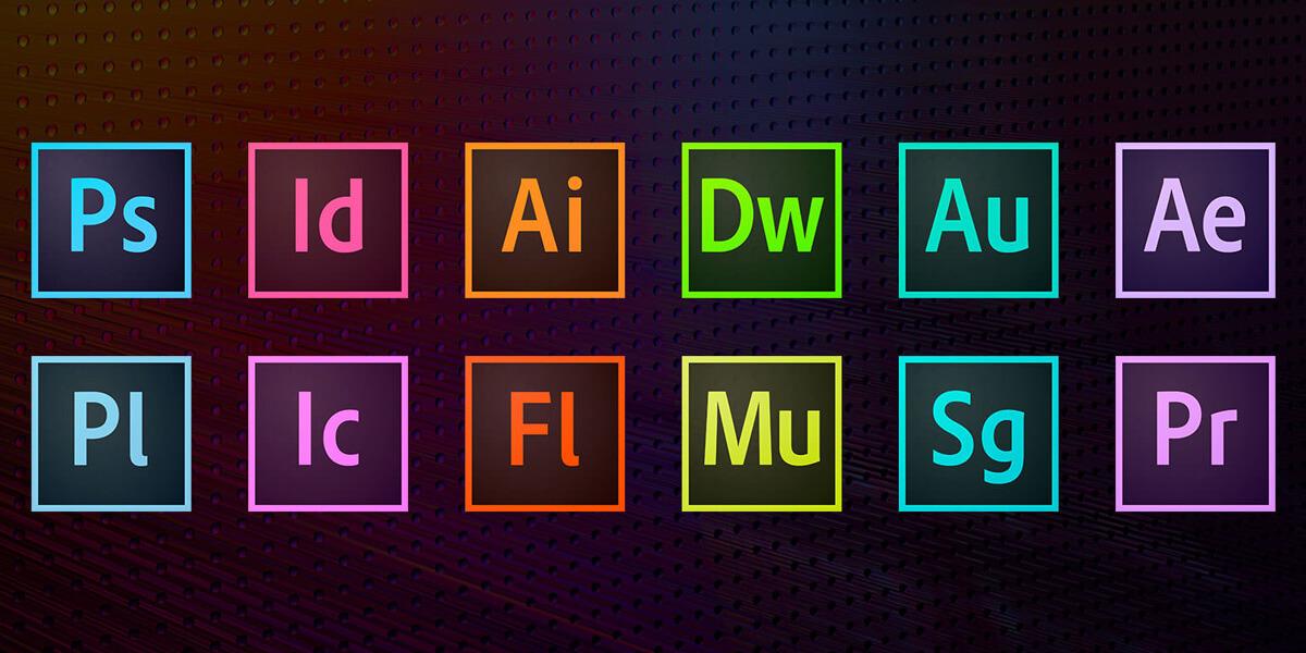 Pacote com todos os programas da Adobe 2020
