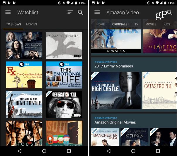 Aplicativo Amazon Prime Video