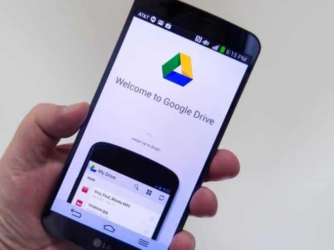 google drive aplicativo